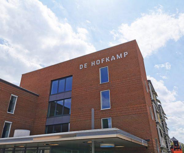 Gevelbelettering De Hofkamp