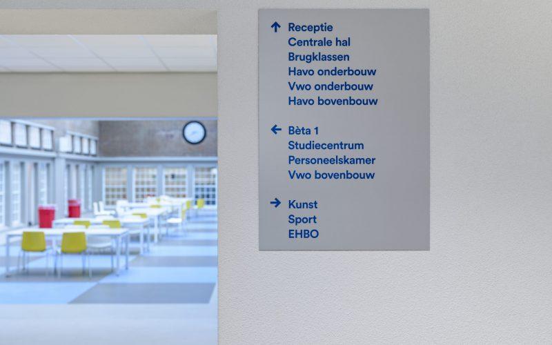 Ontwerp Lava design; www.lava.nl uitvoering Markant design  ; www.markantsign.nl